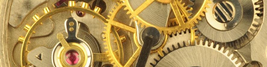 Strojek švýcarských náramkových hodinek